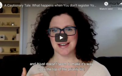 [Video] A Cautionary Tale: What happens when you don't register your trademark